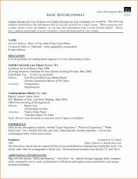 42 Inspirational Formats Of Resumes Awesome Resume Example