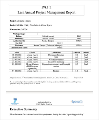 Project Management Report Templates 13 Project Management Report Templates Ms Word Excel