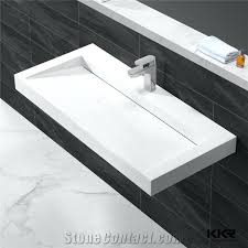 corian bathroom sink china supplier quality factory directly man made stone solid surface bathroom wash