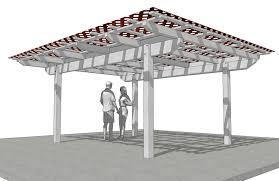 lattice patio cover plans