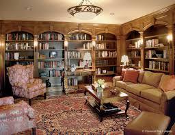 antique serapi in library