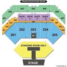 Choctaw Concert Seating Chart Choctaw Casino Grand Theatre Sitzplan Plus 2019