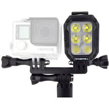 Underwater Camera Light Mount Freewell Underwater Light With Dual Mount For Single Action Camera