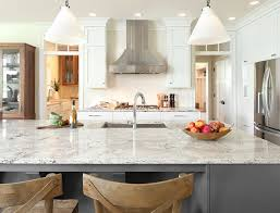 white stone kitchen countertops. Plain Stone Popular White Quartz Kitchen Countertops In Stone