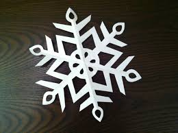 Blank Snowflake Template How To Make A Paper Snowflake