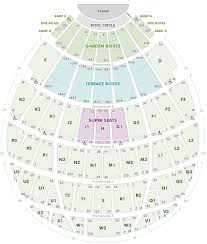 Hollywood Bowl Seating Chart With Seat Views Hollywood