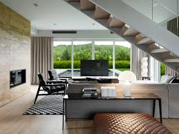 design and decor sliding glass door and grey curtains also minimalist fireplace for living room