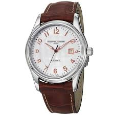 watches for men frederique constant men s fc 303rv6b6 runabout frederique constant men s fc 303rv6b6 runabout brown leather strap watch