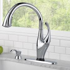 Kitchen Faucet Soap Dispenser Delta Addison Touchless Single Handle Standard Kitchen Faucet With
