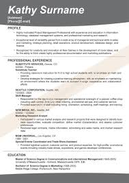 Examples Of Effective Resumes Sample Effective Resume Examples Resumes Resume Layout Word Sample 9