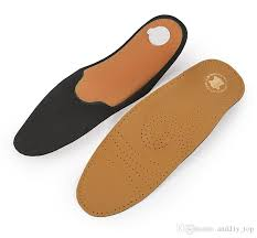 2019 activated carbon pu leather shoe pad cowhide full pad arch support insoles nice quality toed in toed out flat foot correcting insole from andd1y top