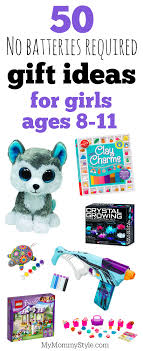 No batteries required gift ideas for girls ages 8-11 - My Mommy Style