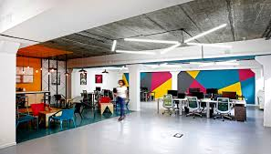 colorful office space interior design. Plain Space Colorful Office Space Interior Design Wallpaper  In Wallpaper