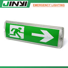 jinyi jy 10388a ip65 led emergency exit light for hotel public indoor place s of china emergency lights led emergency wall light rechargeable