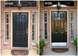 black front doorPainted Front Door Unique Decorocity Black Door Inspiration