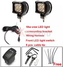 aliexpress com buy 1 75 mounting bracket cree led light 1 75 mounting bracket cree led light wiring harness switch for polaris 15