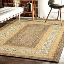 jute area rug classic jute gray natural rectangle 3 ft 6 in x 5 ft jute