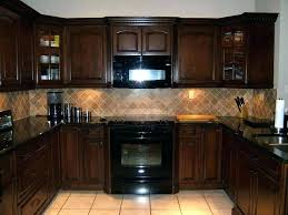 brown painted kitchen cabinets. Brown Painted Kitchen Cabinets Dark Interesting  Gallery Attachment Of This Enchanting