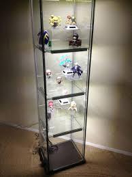 ikea detolf glass door cabinet review designs