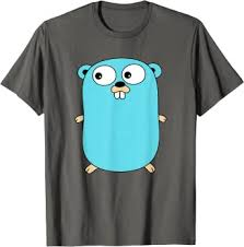 <b>Go Golang</b> Programming Language <b>Logo</b> Mascot Gopher T-Shirt at ...