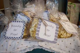 ready pop baby shower favors love pasta and tool belt party diy boy to make