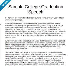 Graduation Speech Examples Inspiration Help With Writing A Graduation Speech Examples Of A Graduation Speech