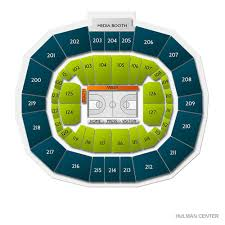 Hulman Civic Center Seating Chart Bradley Braves At Indiana State Sycamores Womens Basketball