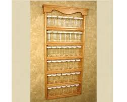 Kitchen: Alluring Wall Mount Spice Rack For Your Kitchen ...