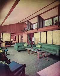 S Interior Design And Decorating Style  Major Trends - 1950s house interior