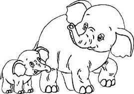 Baby Elephant Coloring Pages Elegant Baby Elephant Coloring Pages