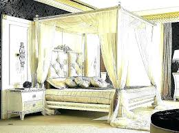 Wood Canopy Bed Frame Canopy Beds Wood Canopy Bed Frame Full ...