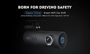 xiaomi 70mai dash cam smart wifi car dvr international version 1080p 130 degree wide angle