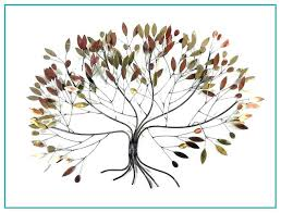 metal leaf wall art large 3d maple outdoor nz