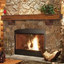 image of cute fireplace mantel shelf