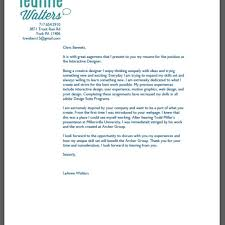 Cover Letters For Graphic Designers Create My Cover Letter