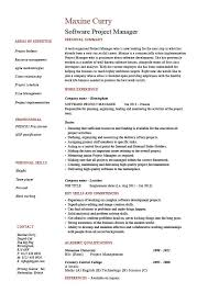 Software project manager resume, example, sample, fixing bugs .