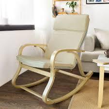 Bedroom Astonishing Natural Wooden Rocking Chair Global Furniture