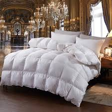 2019 100 white goose down comforter for winter autumn duvet insert blanket filling feather down quilt duvet king queen twin size from natal