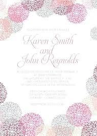 Wedding Invitation Layout Free Download Flower Works Free Wedding