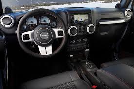 2012 jeep wrangler and liberty arctic editions amazing interior