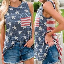 You Like To Obtain Women's American Flag Shirts?