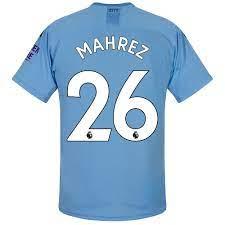 Manchester City thuis shirt Mahrez - Voetbalshirts.com