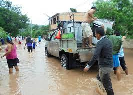 Resultado de imagen para fotos de desborde de ríos