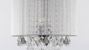 best home ideas adorable crystal chandelier with shade of gallery 3 light free