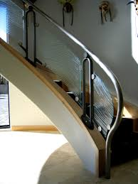 glass staircase railing lovely stairs railings glass design fort myers naples fl
