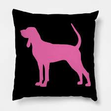 Bluetick Coonhound Size Chart Bluetick Coonhound Pink Silhouette