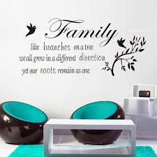 Small Picture Aliexpresscom Buy Family Likes Branch wall art decal quote