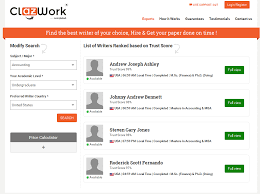 review on clazwork essay writing service screenshots