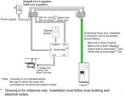 wiring diagram for liftmaster garage door opener installation new at in