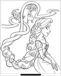 Coloriage Bebe Raiponce Princesse Disney Cute Dessin L Avec